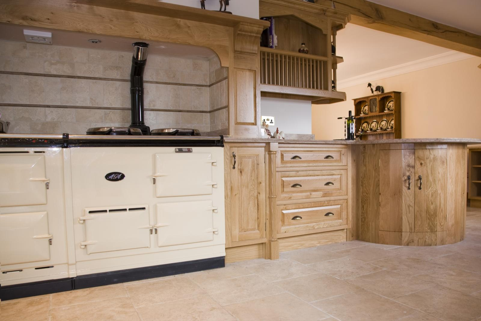 Oak Kitchen Oak Kitchens From Mark Stones Welsh Kitchens